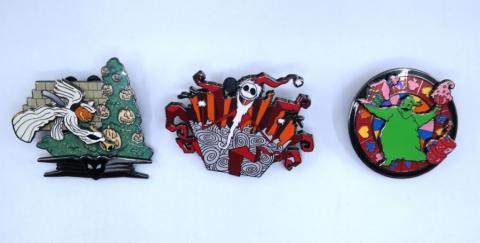 Disneyland Haunted Mansion Holiday Pin Collection - ID: julydisneyana21056 Disneyana