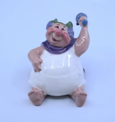 1980s Hagen Renaker Bacchus Figurine - ID: julydisneyana21059 Disneyana