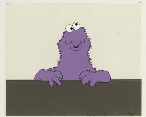 Sesame Street Production Cel  - ID: julysesame20255 Children's Television Workshop