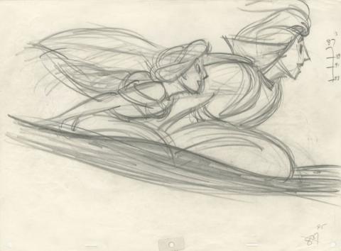 Aladdin Production Drawing - ID: jun21020 Walt Disney