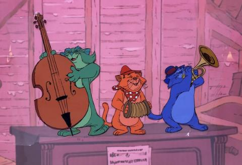 The Aristocats Production Cel - ID: junaristocats21391 Walt Disney