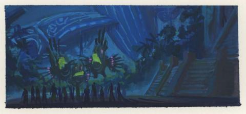 Atlantis Background Color Key Concept - ID: junatlantis21397 Walt Disney