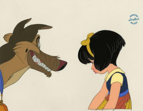All Dogs Go to Heaven Production Cel - ID: junblubluth21096 Don Bluth