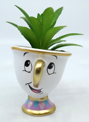 Beauty and the Beast Succulent Planter - ID: jundisneyana20195 Disneyana