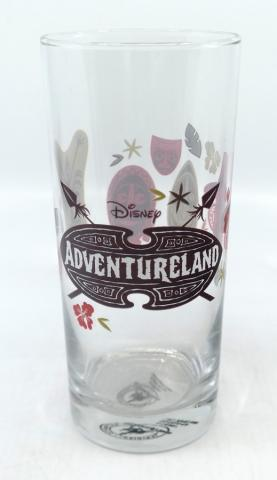 Tiki Room Adventureland Tumbler Glass - ID: jundisneyana20216 Disneyana