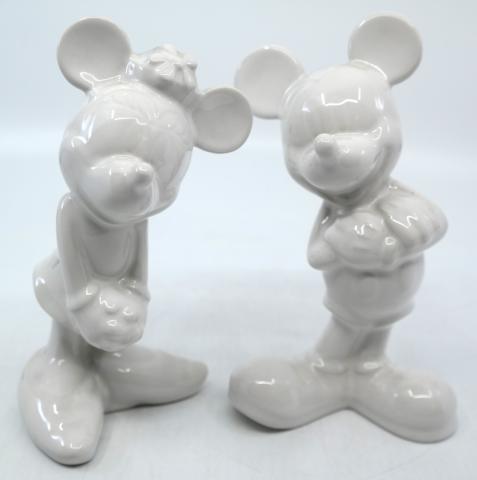 Mickey and Minnie Ceramic Set - ID: jundisneyana20238 Disneyana
