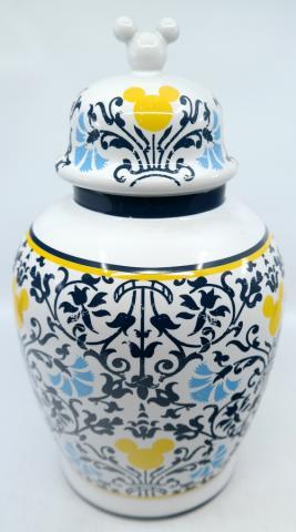 Mickey Mouse Indigo Icon Vase with Lid - ID: jundisneyana20255 Disneyana