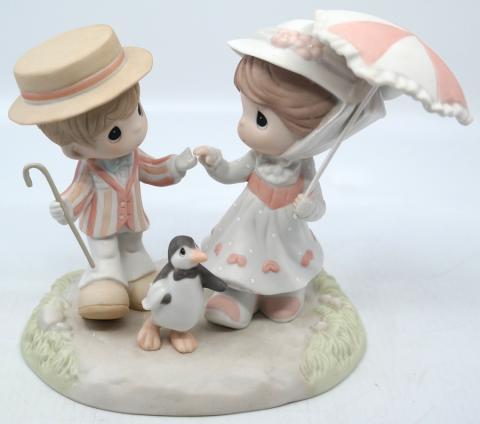 Mary Poppins Jolly Holiday Precious Moments Figurine - ID: jundisneyana20258 Disneyana