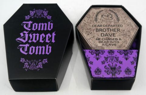 Haunted Mansion Tomb Sweet Tomb Coaster Set - ID: jundisneyana20281 Disneyana