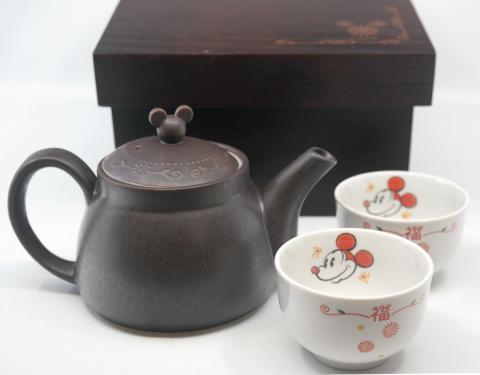 Tokyo Disneyland Tea Set in Box - ID: jundisneyana20300 Disneyana