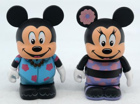 Vinylmation Aulani Resort Hawaii Mickey and Minnie Set - ID: jundisneyana20305 Disneyana