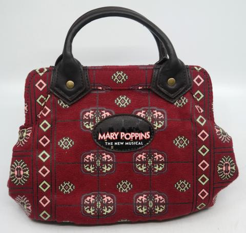 Mary Poppins the Musical Small Carpet Bag Purse - ID: jundisneyana20337 Disneyana