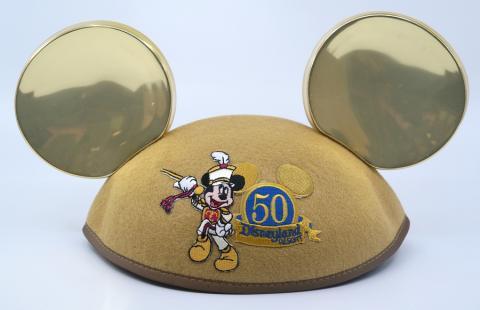 50 Year Anniversary Mickey Mouse Ears - ID: jundisneyana21307 Disneyana