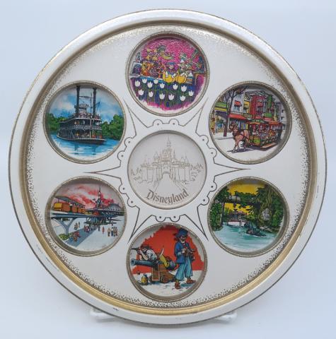Disneyland Souvenir Metal Drink Tray - ID: jundisneyana21315 Disneyana