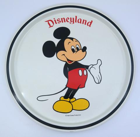Disneyland Souvenir Metal Drink Tray - ID: jundisneyana21317 Disneyana