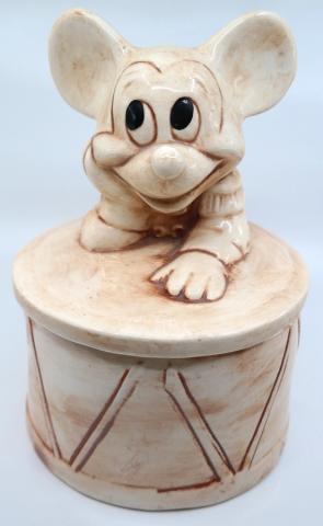 Mickey Mouse Drum Cookie Jar - ID: jundisneyana21321 Disneyana