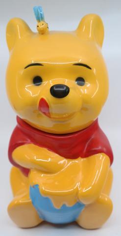 1970s Winnie the Pooh Cookie Jar - ID: jundisneyana21325 Disneyana