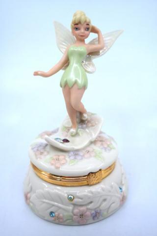 Lenox Tinker Bell Anniversary Treasure Box - ID: jundisneyana21365 Disneyana