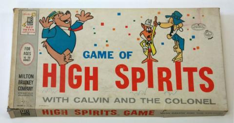 1962 Game of High Spirits with Calvin and the Colonel  - ID: jungames21358 T.A.P.