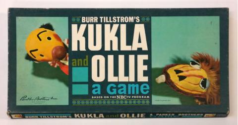1962 Burr Tillstrom's Kukla and Ollie Board Game - ID: jungames21360 Burr Tillstrom