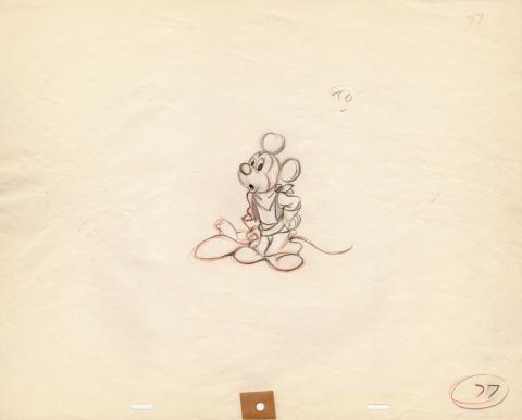 Mickey Mouse Club Production Drawing  - ID: junmickey20213 Walt Disney