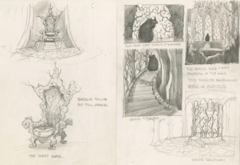 Rock-A-Doodle Concept Drawing - ID: junrock21455 Don Bluth