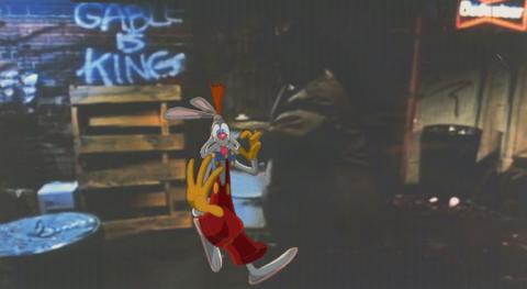 Roger Rabbit Screen Test Production Cel  - ID: junroger20005 Walt Disney