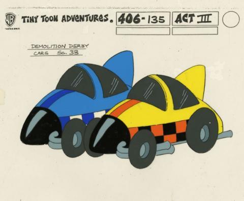 Tiny Toon Adventures Model Cel - ID: juntinytoons21092 Warner Bros.
