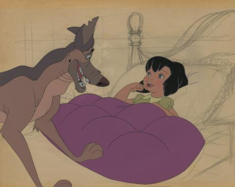 All Dogs Go to Heaven Production Cel - ID: maralldogs21052 Don Bluth