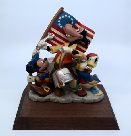 America on Parade Musical Figurine Prototype - ID: mardisneyana21324 Disneyana