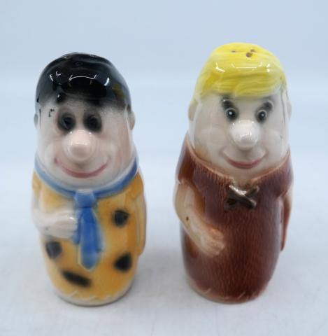 Flintstones Salt and Pepper Shakers - ID: marflintstones21012 Hanna Barbera