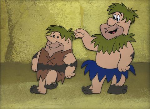 Flintstones Production Cel - ID: marflintstones21404 Hanna Barbera