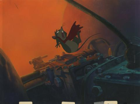 Secret of NIMH Production Cel and Background - ID: marnimh21145 Don Bluth