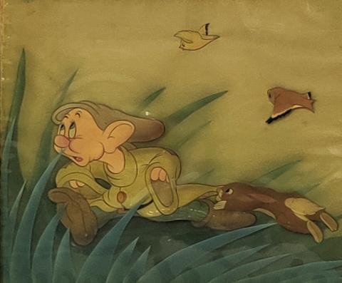 Snow White Production Cel - ID: marsnowwhite21024 Walt Disney
