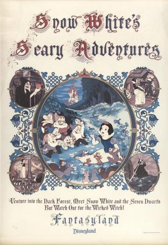 Snow White's Scary Adventures Print - ID: marsnowwhite21045 Walt Disney