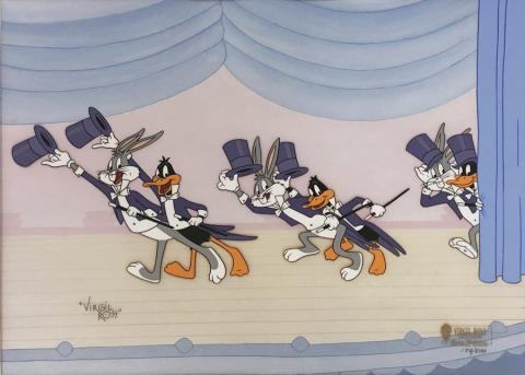 Bugs & Daffy Show Stoppers Hand-Painted Limited Edition Cel - ID: marvirgilross21047 Warner Bros.
