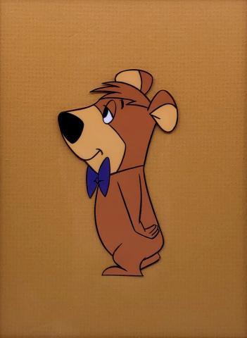 Yogi Bear Production Cel - ID: maryogi21406 Hanna Barbera