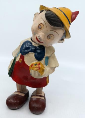 Pinocchio French Wind-Up Toy - ID: novdisneyana20015 Disneyana
