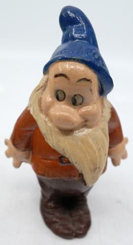 Bashful Seiberling Rubber Figurine - ID: novdisneyana20024 Disneyana