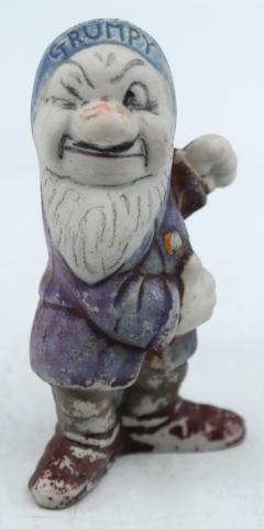 Grumpy Ceramic Figurine - ID: novdisneyana20027 Disneyana