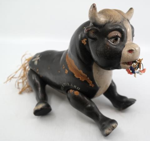 Ferdinand the Bull 1930s Wood Toy - ID: novdisneyana20043 Disneyana