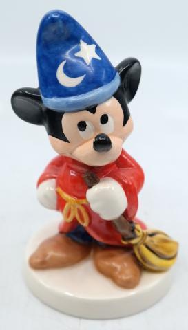 Sorcerer Mickey Goebel Ceramic Figurine - ID: novdisneyana20053 Disneyana