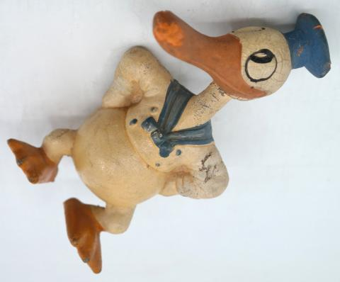 Rubber Donald Duck Figurine - ID: novdisneyana20057 Disneyana
