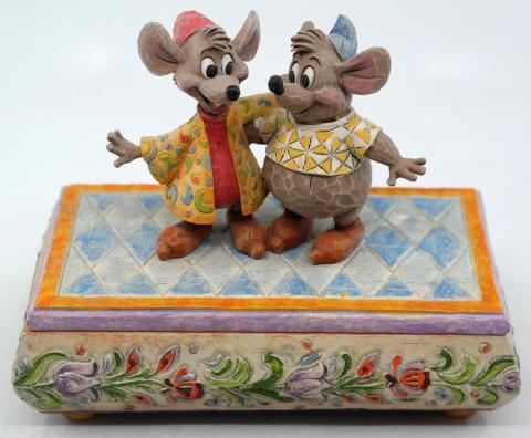 Cinderella Bosom Buddies Jim Shore Trinket Box - ID: novdisneyana20059 Disneyana