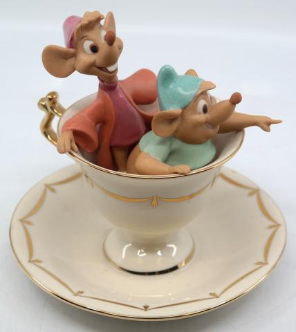 "Lenox ""Tea Party Pals"" Figurine - ID: novdisneyana20060 Disneyana"