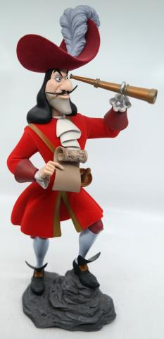 Captain Hook Limited Edition Disney Store Statuette - ID: novdisneyana20063 Disneyana