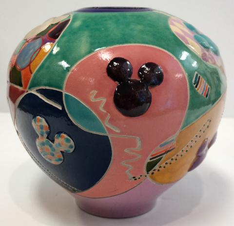 Mickey Mouse Icon Ceramic Vase - ID: novdisneyana20069 Disneyana
