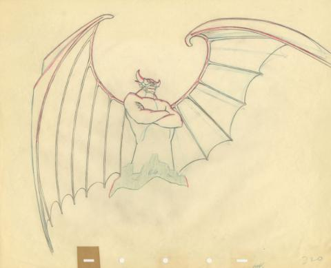 Fantasia Production Drawing - ID: sepfantasia21039 Walt Disney