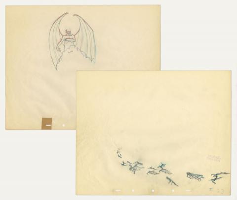 Fantasia Production Drawing - ID: sepfantasia21040 Walt Disney
