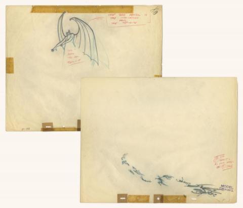 Fantasia Production Drawing - ID: sepfantasia21041 Walt Disney